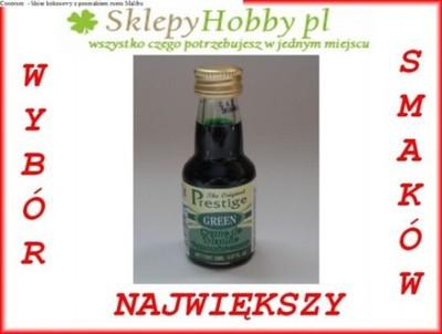 Zaprawka Green de Menthe - likier wódka miętowa