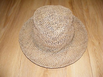 TOMMY HILFIGER - kapelusz słomkowy, unisex - jNOWY