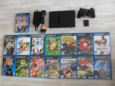 Konsola Ps2 Playstation 2 Zestaw Gry Gw 6734726850 Oficjalne Archiwum Allegro