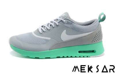 reputable site 2f253 a9067 Nike Air Max Thea Szare Miętowe Srebrne Zielone