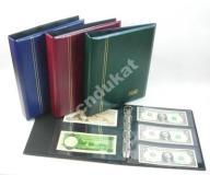 Klaser / Album na banknoty Fischer 10 kart Optima