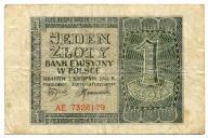 1 złoty 1941 AE