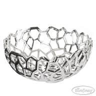atramArt Koszyk misa dekoracyjna srebrna