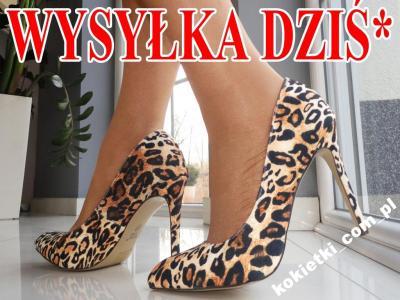 6ad91ba394092 BUTY SZPILKI PANTERKA LEOPARD KLASYCZNE 41 - 5247974546 - oficjalne ...