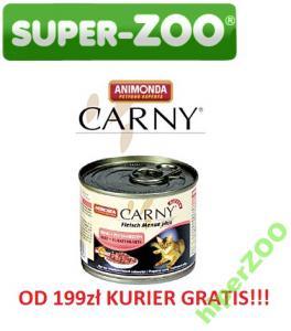 ANIMONDA CARNY KITTEN KURCZAK + KRÓLIK 96x200g