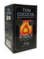 Węgielki do shisha Tom Cococha Silver 1kg 112sztuk