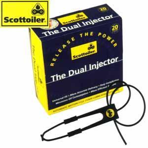 Scottoiler Dual Injector eSystem oraz Vsystem