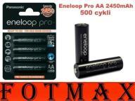 PANASONIC ENELOOP PRO akumulatorki AA 2450mAh 4szt