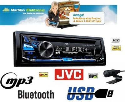 radio jvc kd r871bt bluetooth 4x50 usb mp3 flac cd. Black Bedroom Furniture Sets. Home Design Ideas