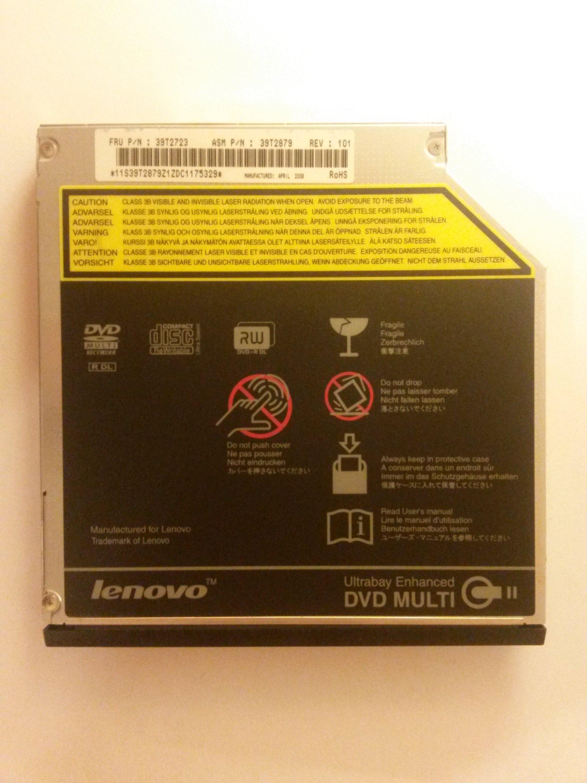 Napęd DVD Lenovo IBM ThinkPad R61i