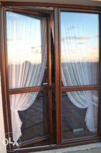 Drzwi Tarasowe 2 Skrzydłowe Z Ruchomym Słupkiem