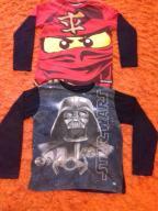 Bluza  bluzki Lego Ninjago, Star Wars - rozm. 152