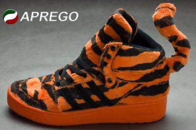 adidas originals jeremy scott tiger orange