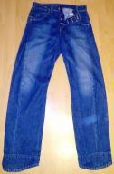 LEVI`s jeansy nietypowe wysoki stan S/M