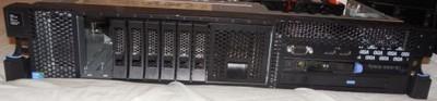 Serwer IBM x3650 m2 2x 5570 2gb ServeRaid MR10i