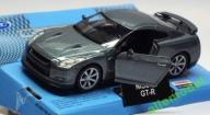 NISSAN GT-R R35 1:34 WELLY