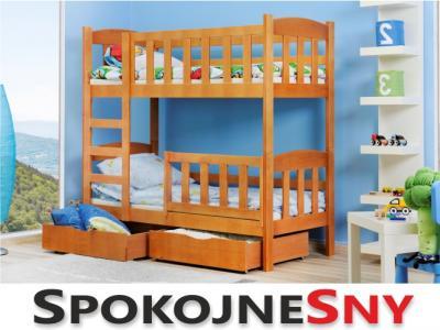 łóżka Dziecięce łóżko Piętrowe Defi Spokojne Sny