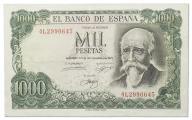 15.Hiszpania, 1 000 Peset 1971 (1974) rzadki,St.3-