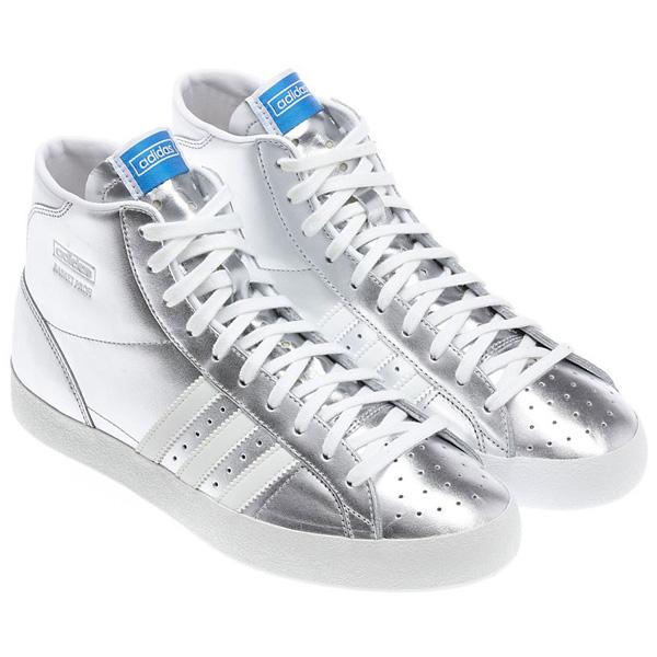 Adidas Basket Profi OG EF. Buty sportowe srebrne, rozmiar