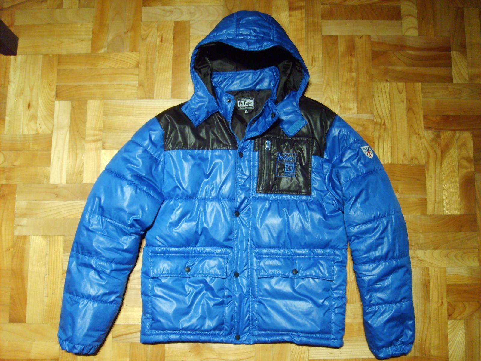 KURTKA MĘSKA puchowa zimowa LEE COOPER XL z ADIDAS Zdjęcie