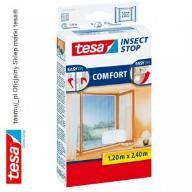 Moskitiera okienna tesa Comfort 1,2m x 2,4m biała