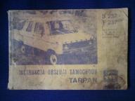 Instrukcja obsługi samochodu TARPAN S237 F237