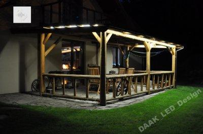 Oświetlenie Taras Altana Ogród Kemping Lampa Led