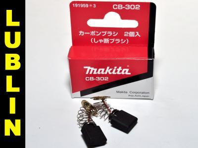 Szczotki węglowe Makita CB302 CB-302 ORYGINALNE !!