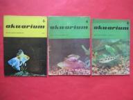AKWARIUM Rybki Rośliny 3 numery ROK 1976 i 1978