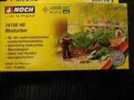 1:87 Rośliny rabarbar laser NOCH 14108