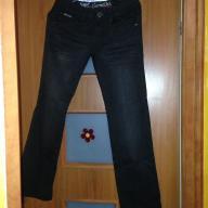 Spodnie jeansy czarne rozmiar 28
