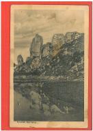 OJCÓW POCHYLCE POCZTÓWKA LATA 1930