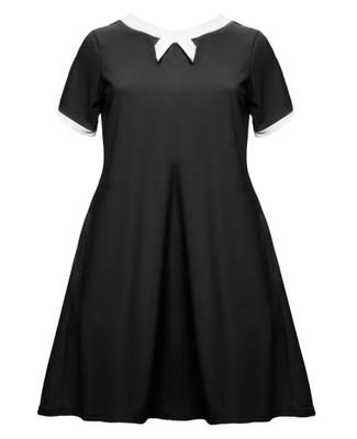 b4cabaf085 Sukienka trapezowa lola r.44-68 tu r46 ByLola - 6622486739 ...