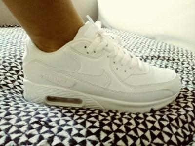 białe buty nike air max damskie