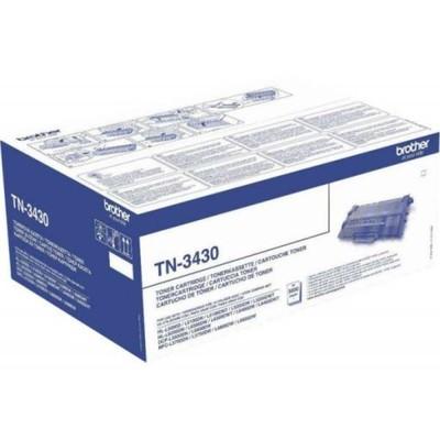 Toner org. Brother TN-3430 L5000D L5100DN L5200DW