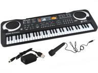 Elektroniczne ORGANY 61 klawisze keyboard MIKROFON