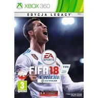 FIFA 18 XBOX 360 PL EDYCJA LEGACY - wersja cyfrowa