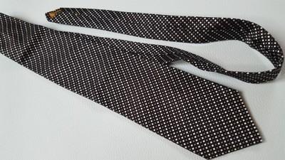 krawat YSL 100% jedwab silk włoski