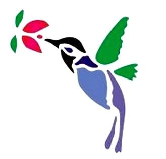 Szablon Wielokrotnego Użytku Szablony Ptak Koliber 6862018015