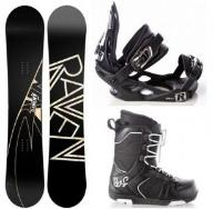 Zestaw Snowboard Raven Element 161cm Wide 2015