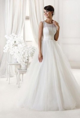 6980f63ff5 Suknia ślubna Agnes (woj. zachodniopomorskie) - 6679765773 ...