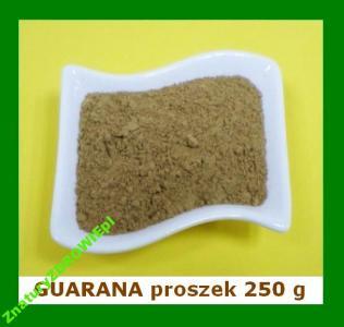 GUARANA (proszek) 250 g - bogate źródło KOFEINY