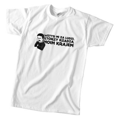koszulka anty PiS wstyd mi za ludzi którzy rządzą
