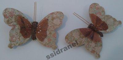 Motylki Motyle Dekoracyjne Motyl Na Prezent M27 6486642509