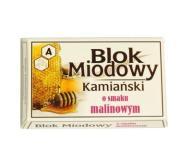 BLOK MIODOWY KAMIAŃSKI O SMAKU MALINOWYM