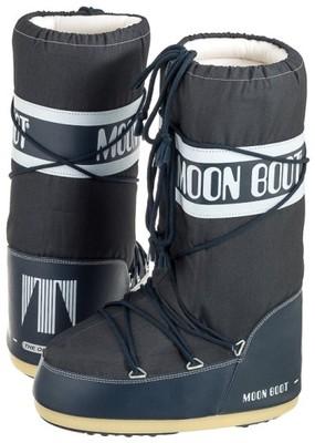 afc5a41371482 Buty Damskie Zimowe Moon Boot Nylon Granatowe - 6615199096 ...
