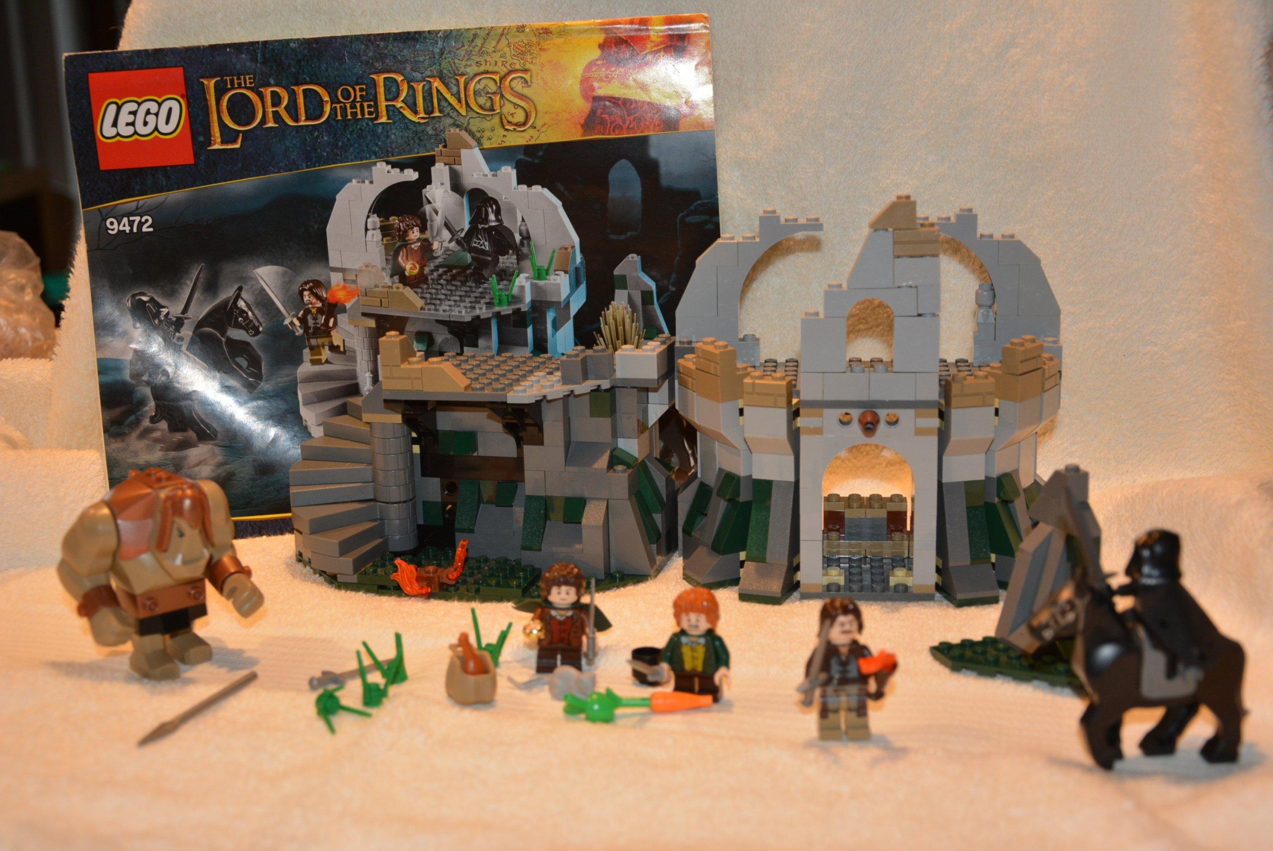 Lego Władca Pierścieni 9472 Atak Na Wichrowy Czub 7062501979