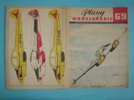 Plany Modelarskie 69 - samolot L-200 MORAVA