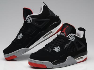 Nike Air Jordan 4 IV Retro 308497 089 BRED 40 45