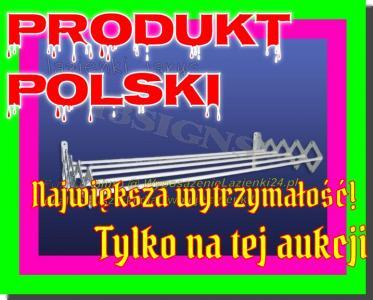 Suszarka harmonijkowa 90cm rozciągana METALOWA!!!
